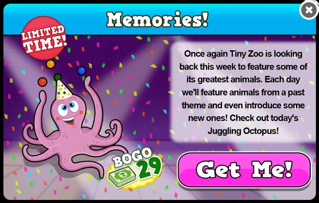 Juggling octopus modal