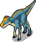 Brachylophosaurus single