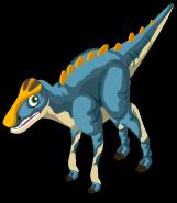 Brachylophosaurus single