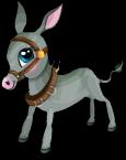 Cart donkey static