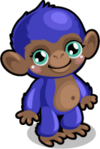 Cubby monkey blueberry single