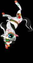 Dia de los muertos pony