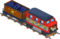 Holiday train engine