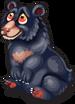 Asian black bear single