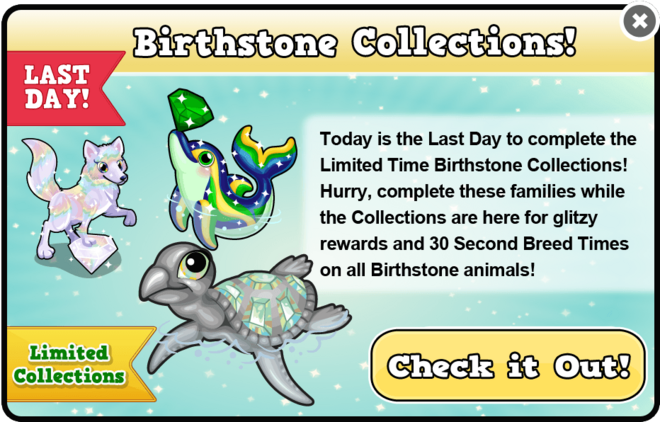 Birthstones collection last modal