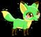 Cubby fox lime single