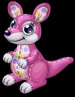 Polka dot kangaroo single