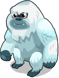 Abominable snowman static