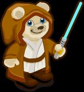 Galactic Knight Bear single