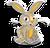 Goal mercury rabbit icon