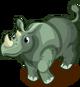 Sumatran Rhino single