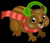 Christmas chipmunk single