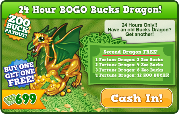 Bucks dragon 2 modal