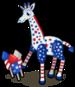 Fireworks giraffe single