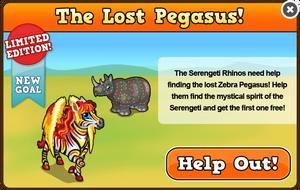 Zebra pegasus modal