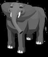 African elephant an