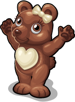 Chocolate bear single