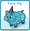 Party pig card