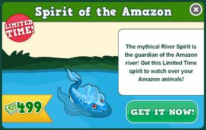River spirit modal