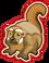 Goal owl monkey icon