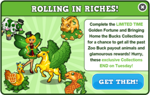 Cashback animals modal