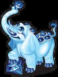 Sapphire elephant single