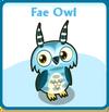 Fae owl card