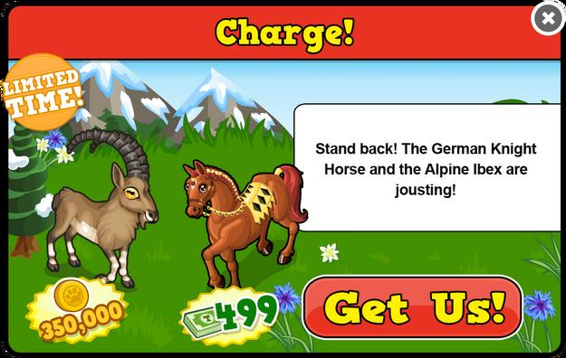 Alpine ibex modal