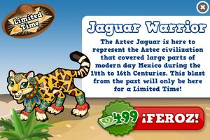 Aztec jaguar modal
