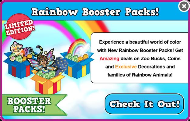 Booster packs rainbow13 modal