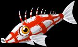 Long nose hawkfish single