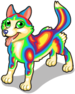 Rainbow husky single