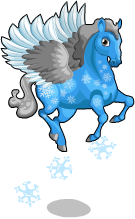 Snowflake pegasus an