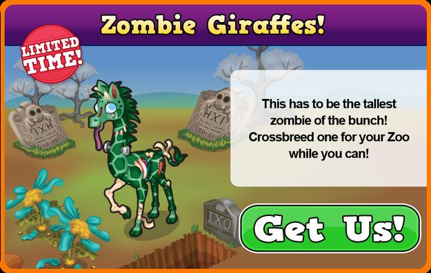Zombie giraffe modal
