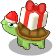 Gift turtle static