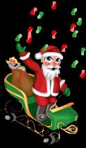 Parade santa claus an