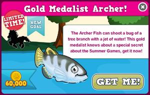 Archer fish modal