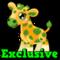 Cubby bucks giraffe hud