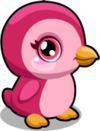 Cubby penguin magenta single