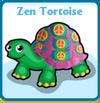 Zen tortoise card