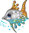 Jewel fish static