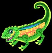 Leaf chameleon single