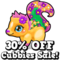 Flowers & gems cubby sale hud