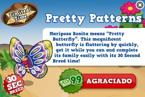 Mariposa bonita modal