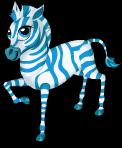 Blue zebra static