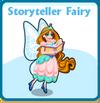 Storyteller fairy card
