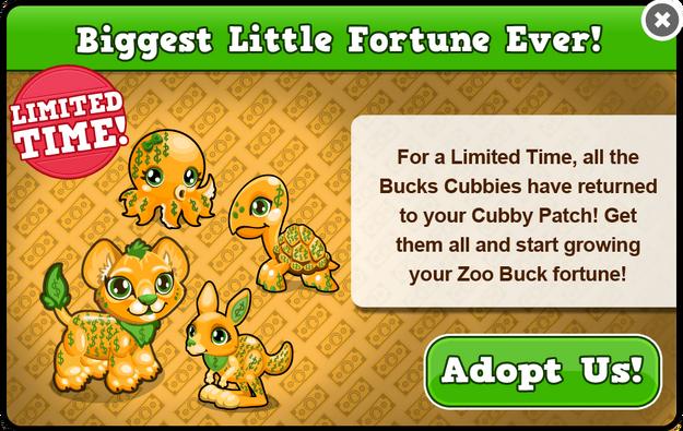 Bucks cubbys modal