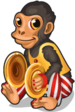Cymbal monkey single