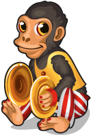 Cymbal monkey single