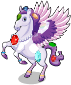 Jewel pegasus static